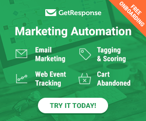 Marketing automation with Get Response