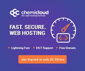 ChemiCloud hosting service