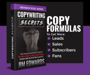 The Copy Secrets book by Jim Edwards
