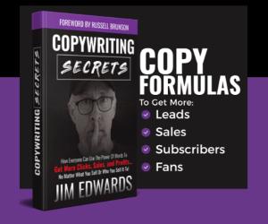 The Copy Secrets book by Jim Edwards